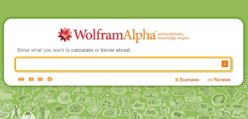 Wolfram Alpha is really useful for cooking.