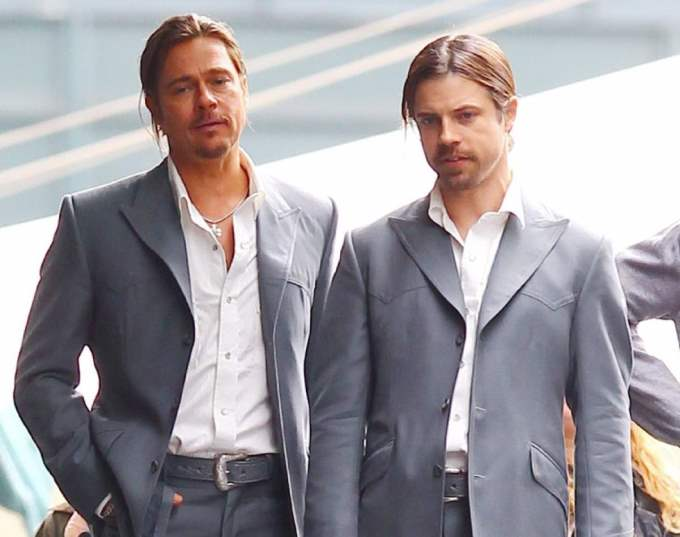 Image result for brad pitt stunt double