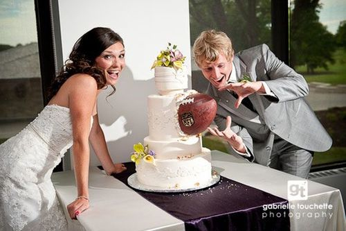 Ugly Sports Themed Weddings
