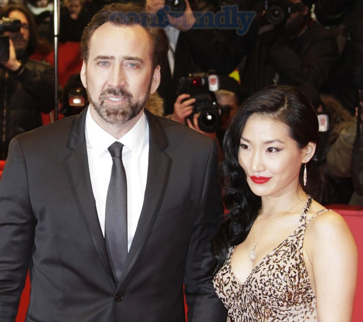 Nicholas Cage, Alice Kim, Wedding